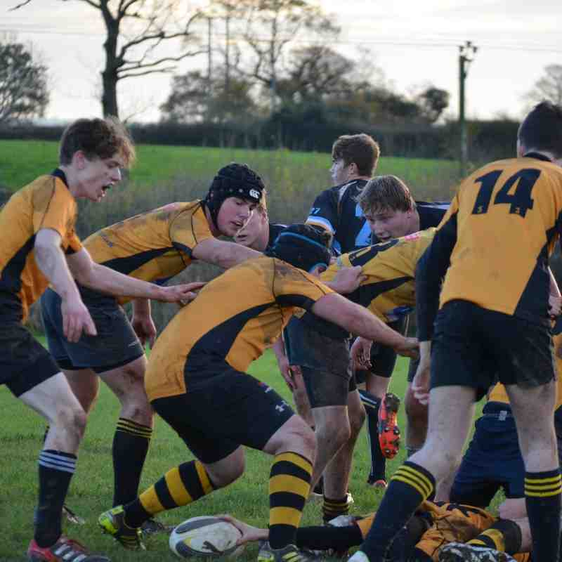 Colts VS Keynsham 22/11/14