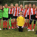 Under 14 Girls lose to BSC FC 0 - 4