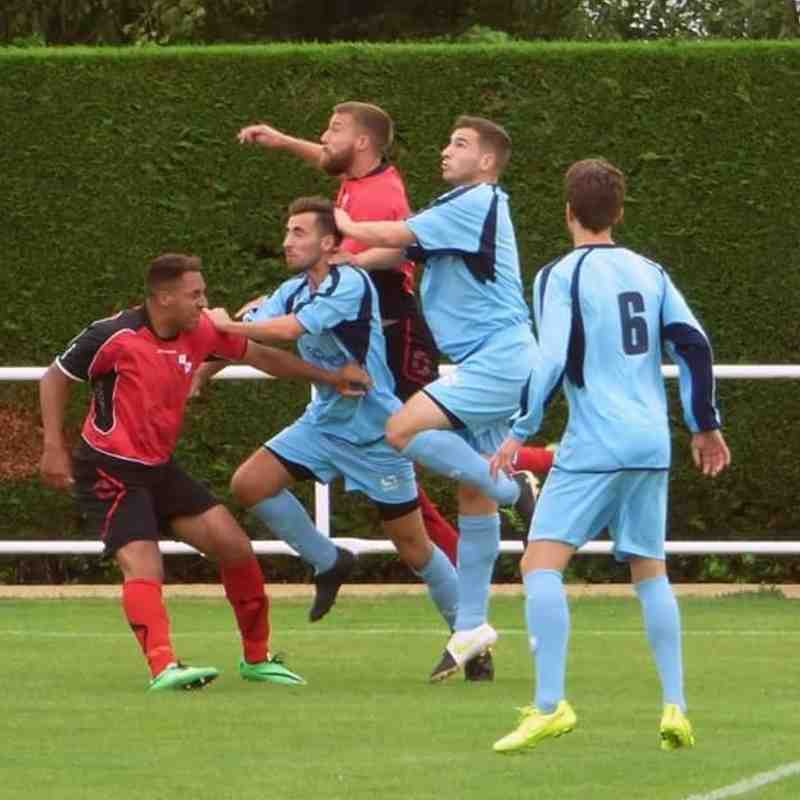 Northampton Sileby Ranagers v Leighton Town F.C v   - 29th August 2015