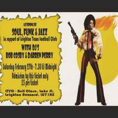 SOUL, FUNK and JAZZ NIGHT 27th February at 7.30