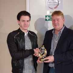 Lewis McBride Wins Managers Player of the Year Award
