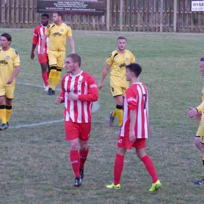 Leighton Town F.C v Hertford Town - Tue 16 Aug 2016