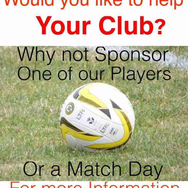 Player & Match Sponsorship