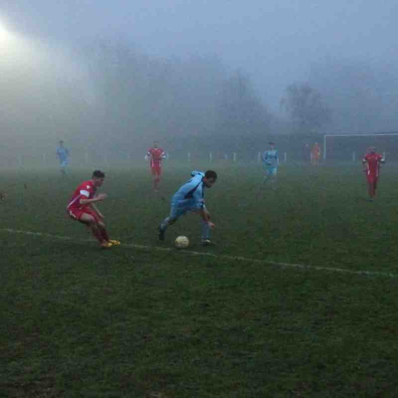 17/12/16 Away v Cockfosters