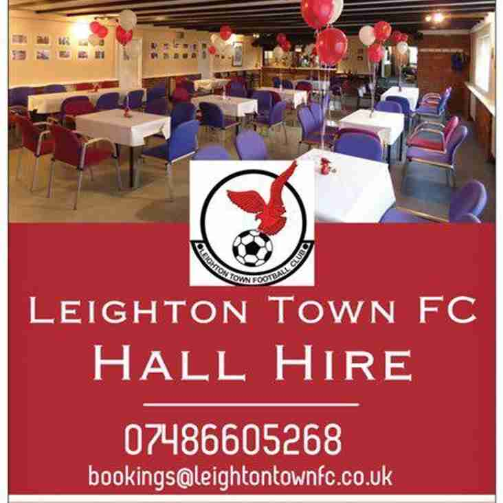 Leighton Town Hall Hire