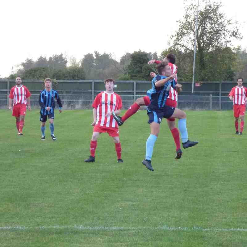 21/10/17 Away v Burnham Ramblers (FA Vase)