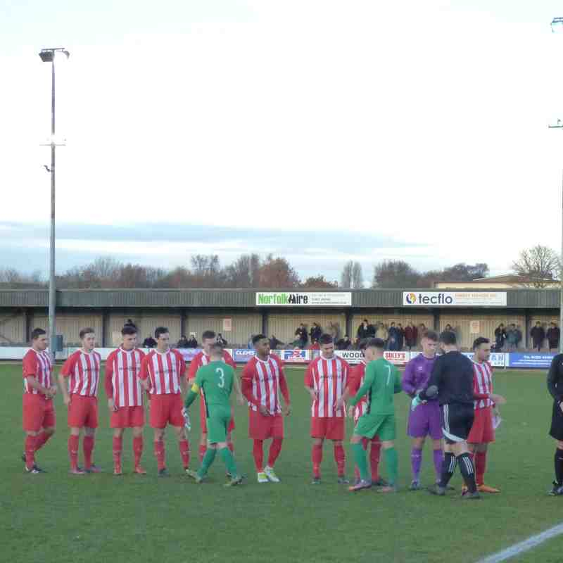 02/12/17 Away v Gorleston FA Vase