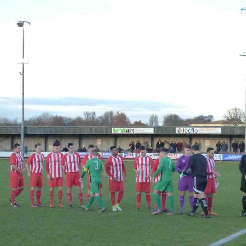 02/12/17 Away v Gorleston FA Vase