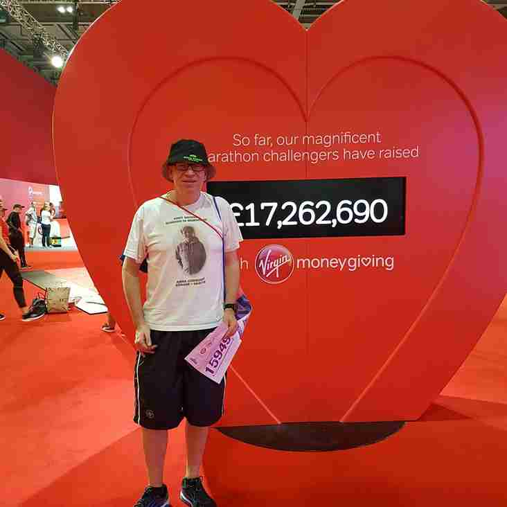 Leighton Town Supporter Andy Griggs To Run London Marathon For  Cancer Care & Haematology Fund