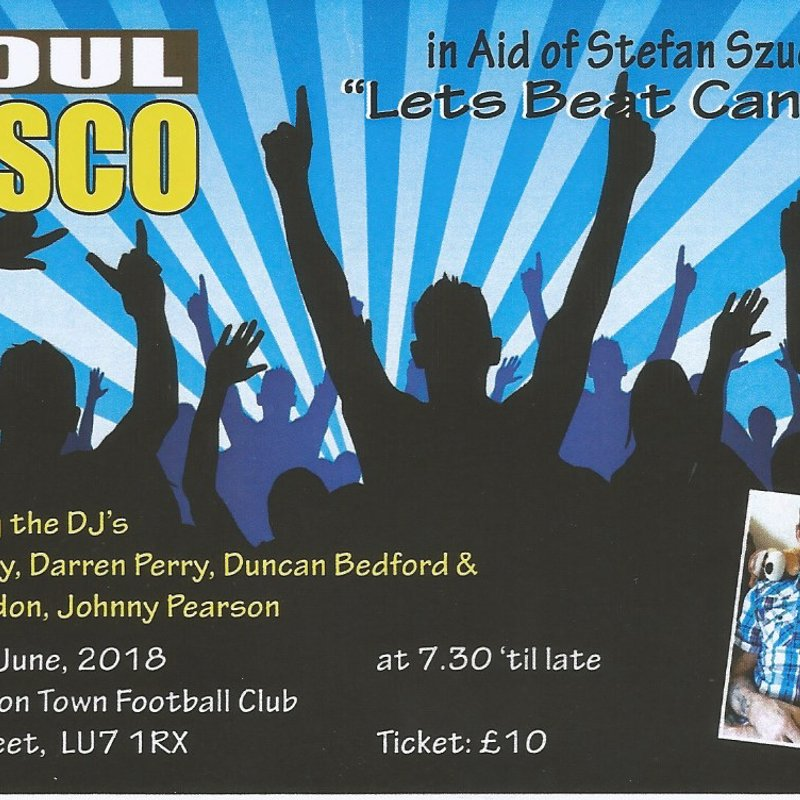 Charity Soul Disco Night -LETS BEAT CANCER