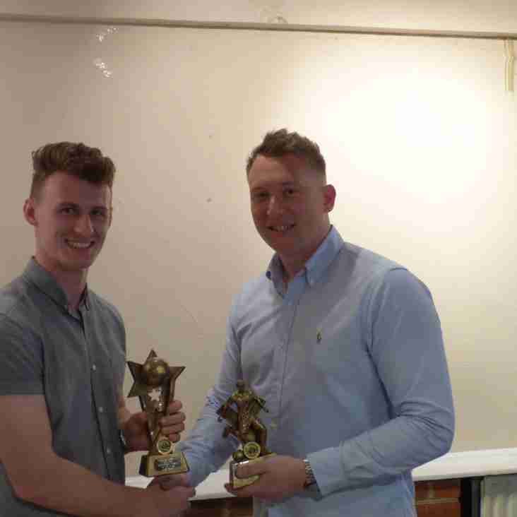 Presentation Night - First Team Winners