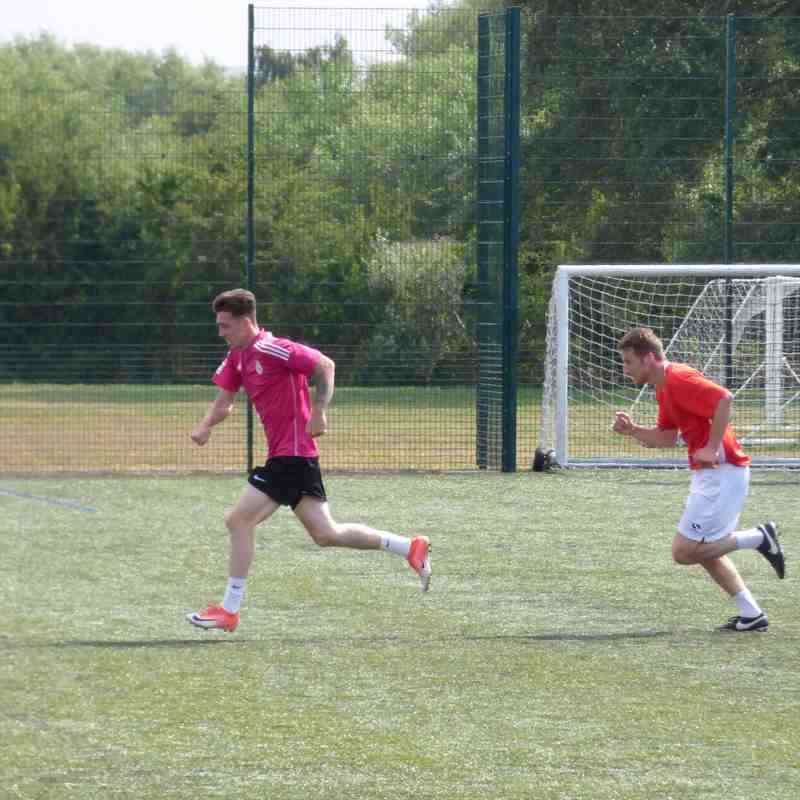 14/07/18 Training at Cedars
