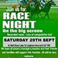 Race Night Saturday 29th September
