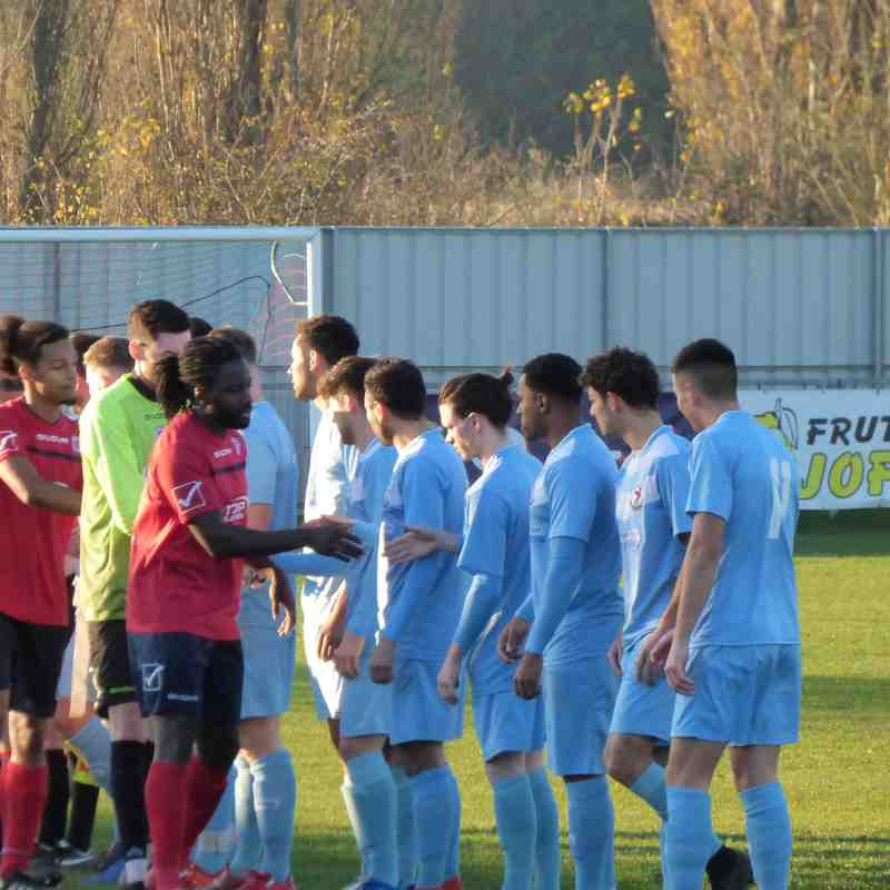 17/11/18 Away v Biggleswade United