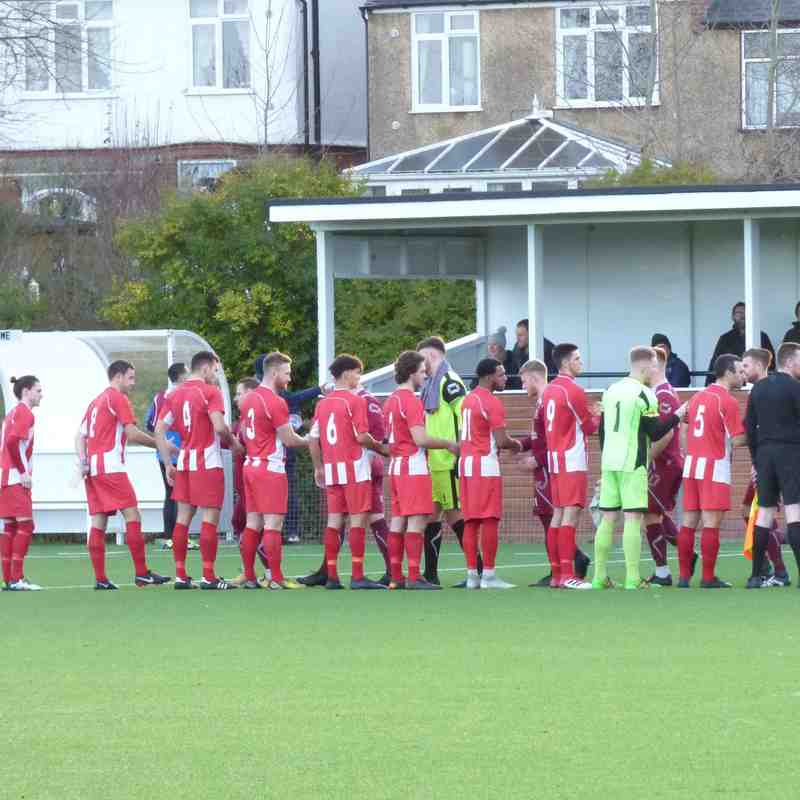 22/12/18 Away v Crawley Green