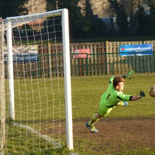 Penalty Save By Wyant, Secures 3 Points For Town