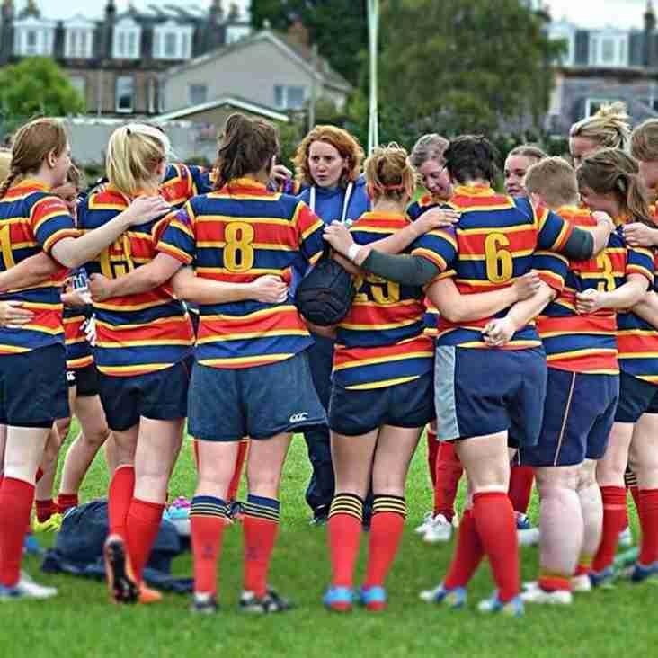 Women at Wardie - Celebrating nine years of female rugby in North Edinburgh