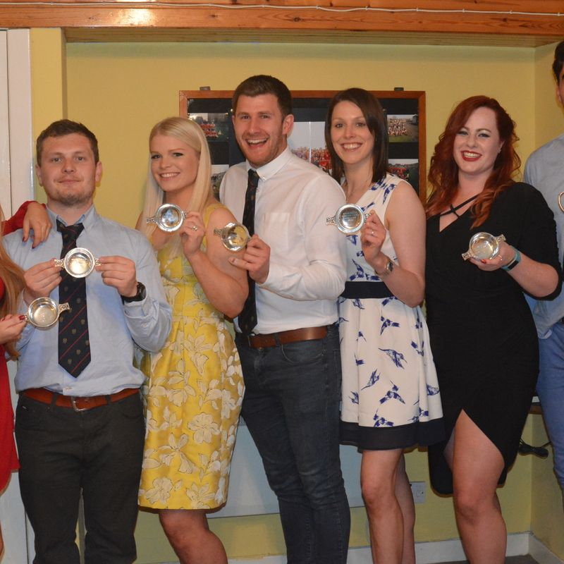 Broughton celebrate success at end of season awards night