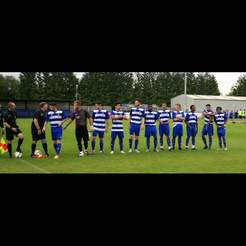 Dunstable Town FC Development Squad beat Berkhamsted 0 - 5