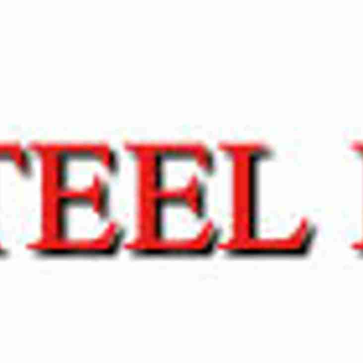 PDB STEEL ERECTION SIGN UP WITH THE SHINERS
