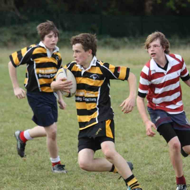 U14's Letchworth V's Welwy