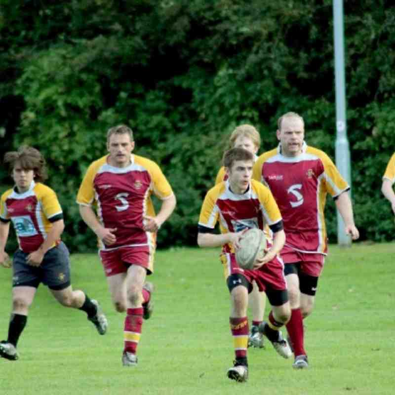 Knottingley 2nd XV v Sandal Saracens - 6 October 2012