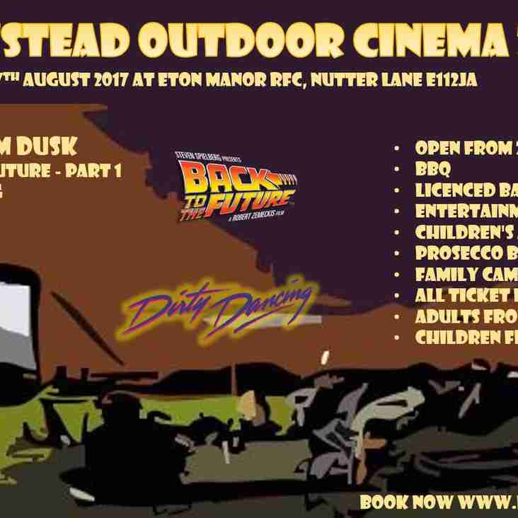 Wanstead Oudoor Cinema 2017