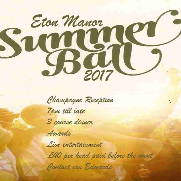 Eton Manor Summer Ball 2017