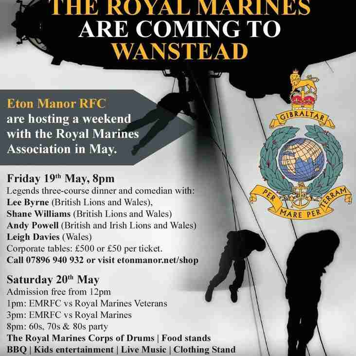 Rugby and Beer fesival with the Marines Association
