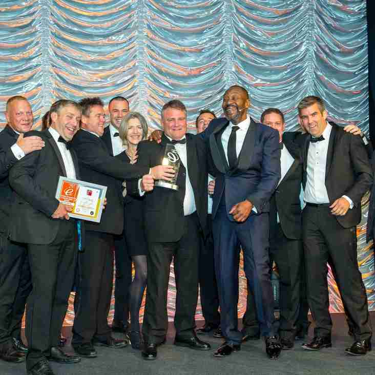 Eton Manor RFC wins National Small Scale Project of the Year Award