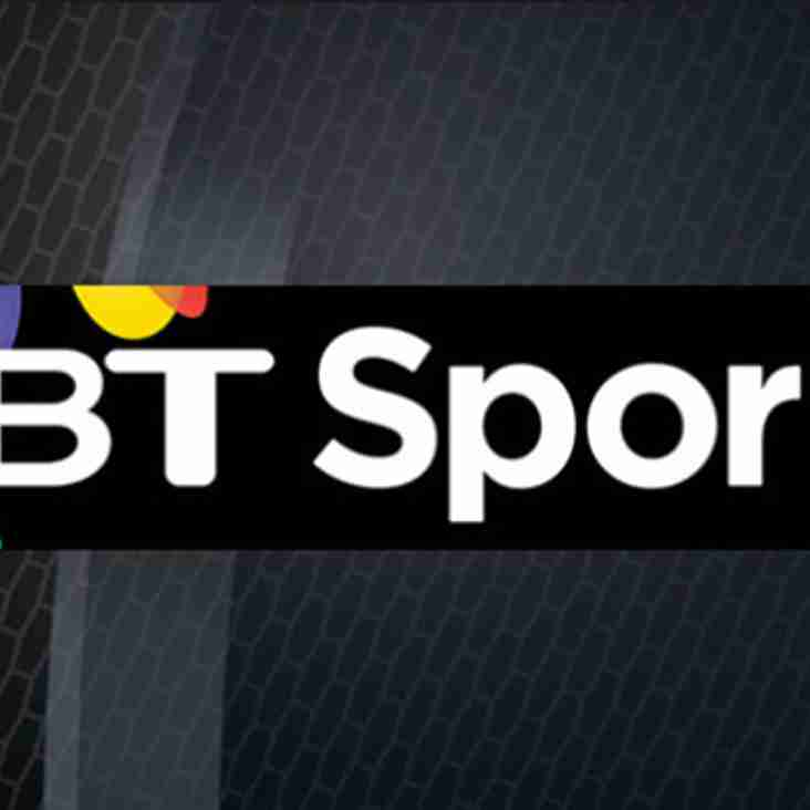 Now Showing live rugby on BT sports