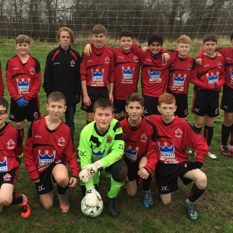 U14 (Reds) lose to Bishops Cleeve Colts U14 6 - 2