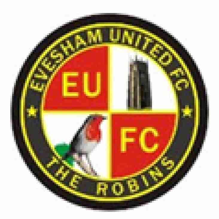 Friendly Announcement -  Evesham United (A)