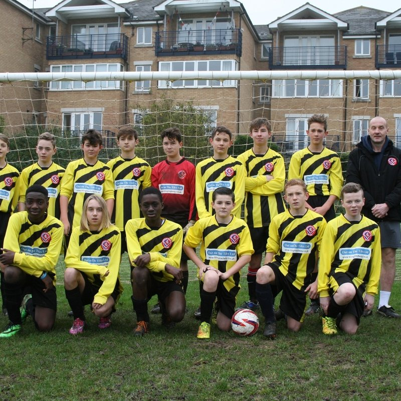 Hempstead Valley U16 Colts lose to Meopham colts 2 - 5