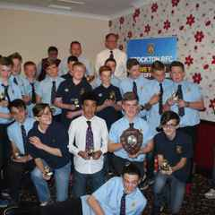 Junior Presentation evening for players ages 12-16 plus parents/ family & friends Friday 27 May