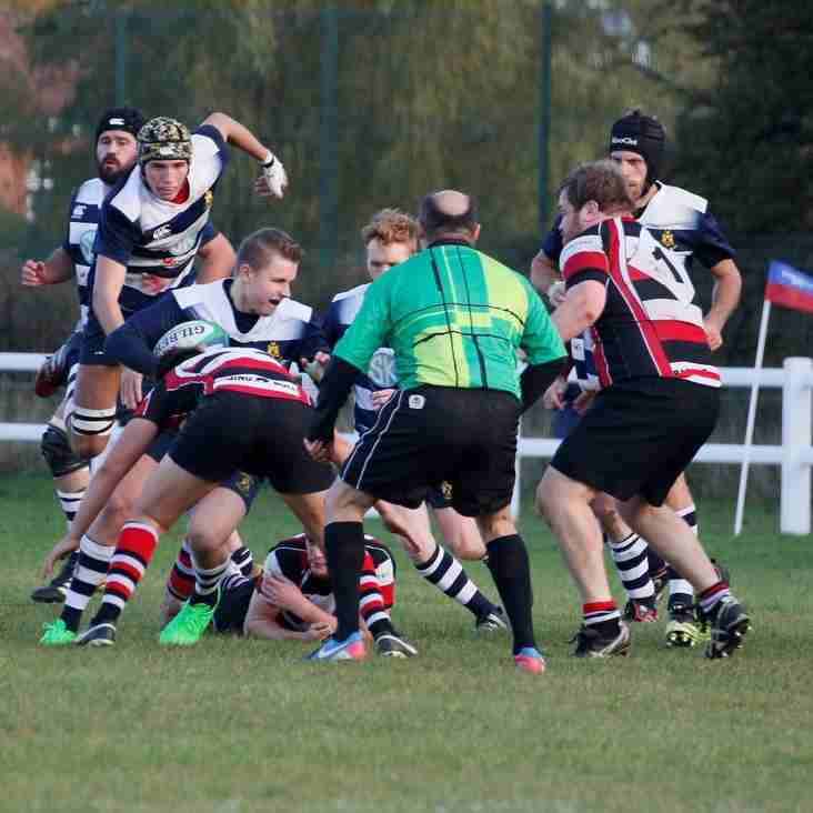 Saracens edged out 24-36 by unbeaten top of the table Hartlepool Rovers Heughers