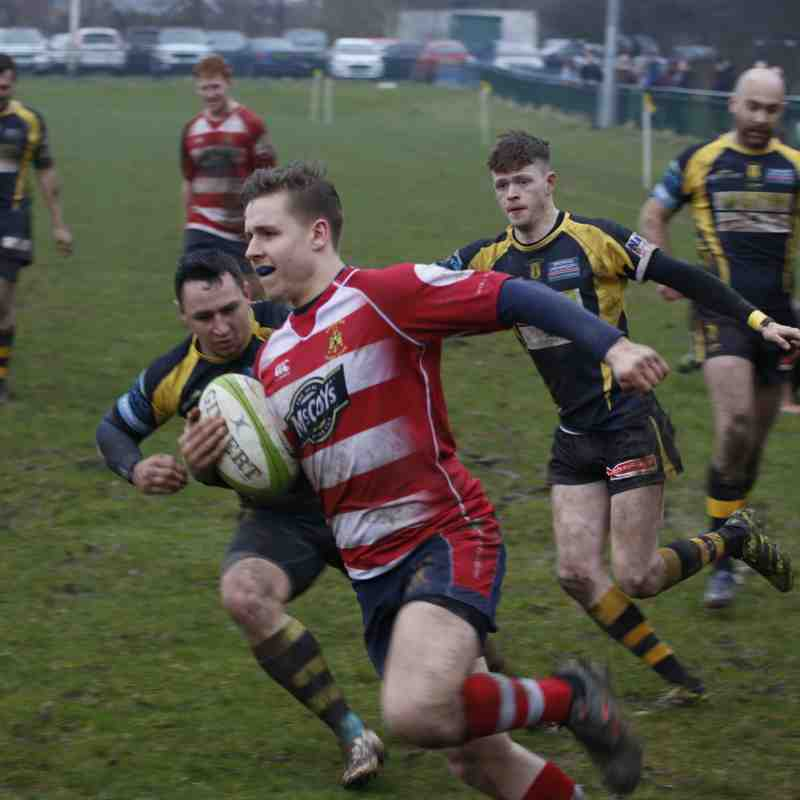 Guisborough 10-32 Stockton.