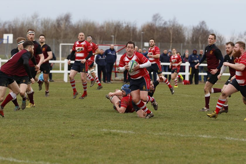 Nine try Stockton romp to  the half century against Barnard Castle at Grangefield