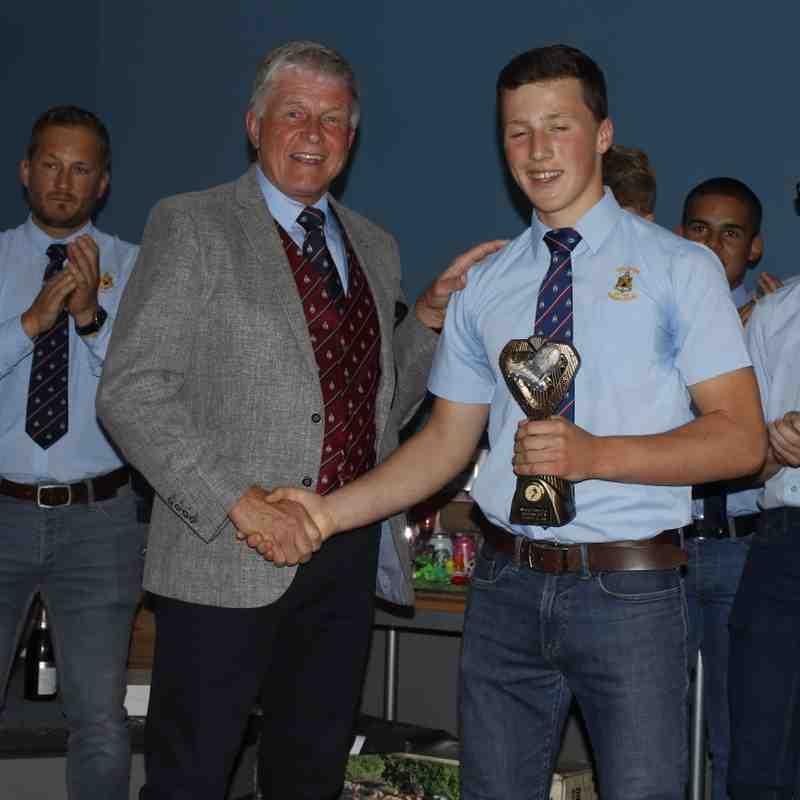 U14/15 and16 awards evening 2018/19.