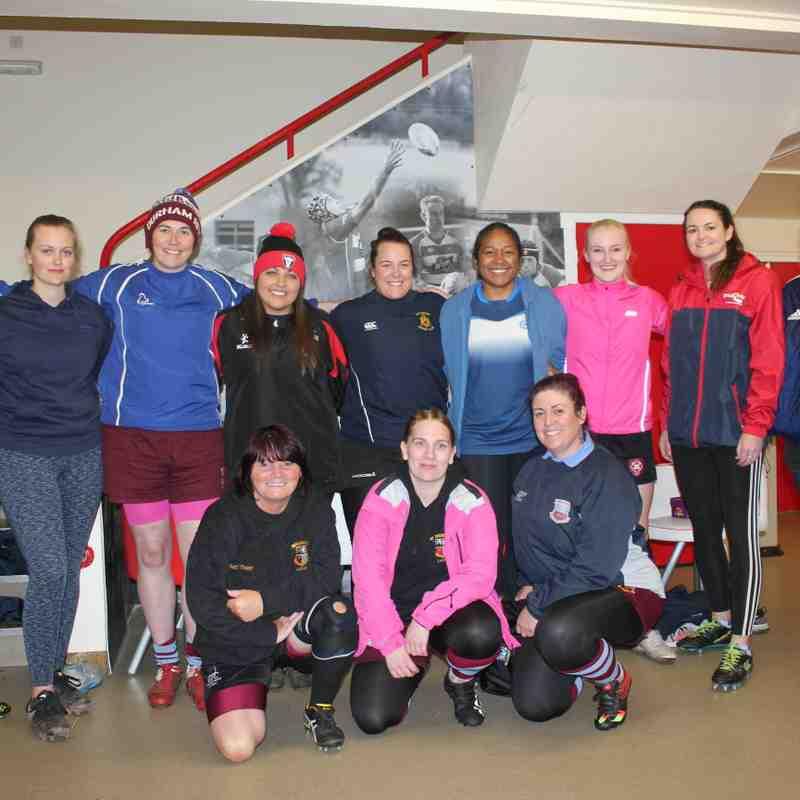 Stockton Ladies first training session 2019.