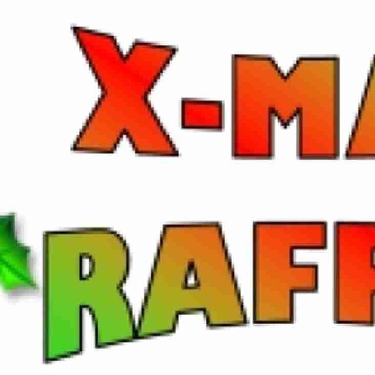 Christmas Raffle Draw 2pm 23/12/18