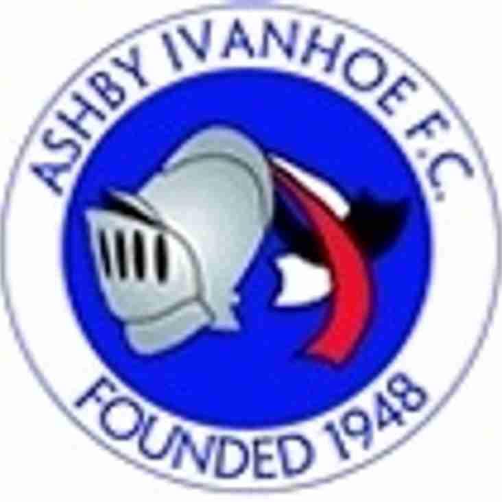 Match Report Radford v Ashby Ivanhoe
