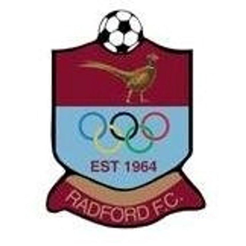 Radford 3-1 Harborough Town (FA Vase)