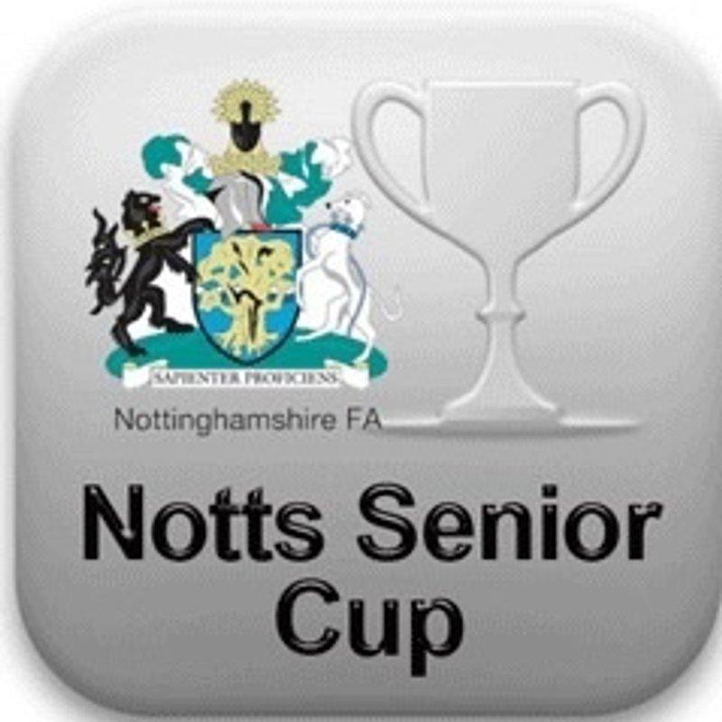 Radford v Basford Senior Cup Tues 6 Dec