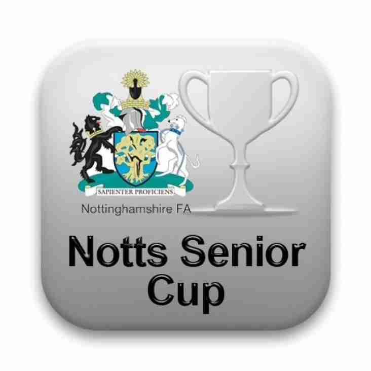 Home v W Bridgford in Senior Cup 5 Dec