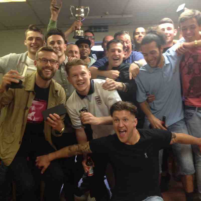 Radford FC Presentation Night June 2016