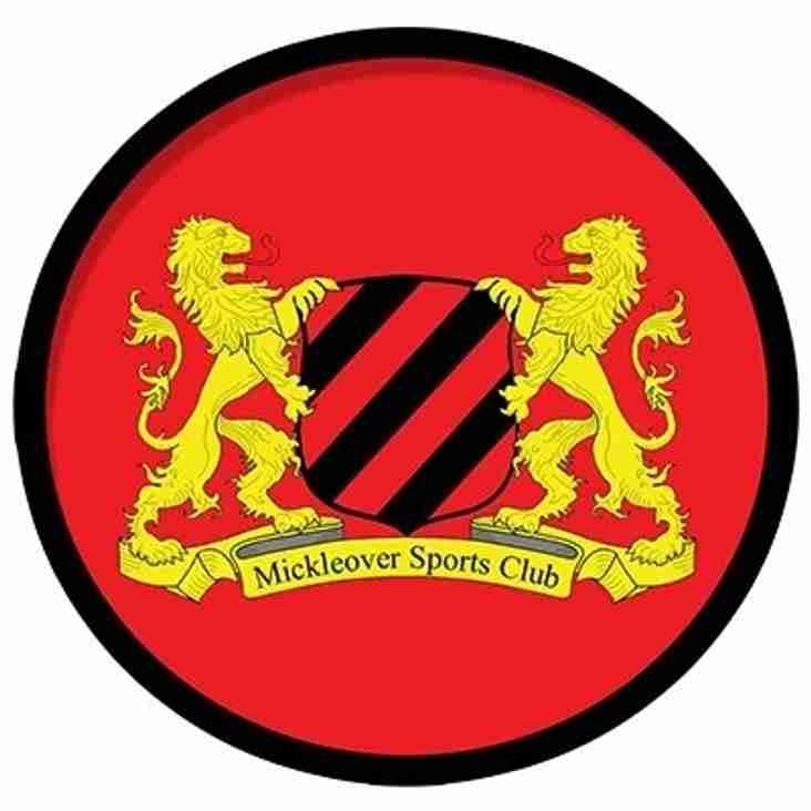 Reserves 4-2 Mickleover Sports reserves