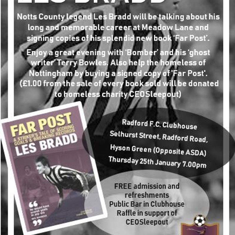An Evening with Les Bradd