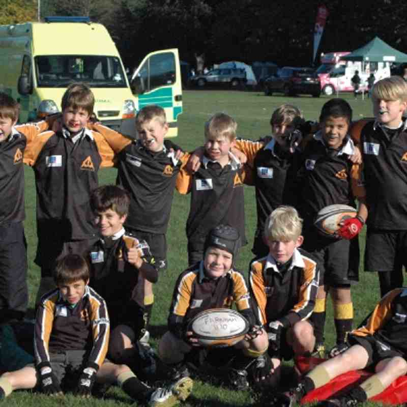 U10 A's at the Camberley Festival - 14 Oct 2012