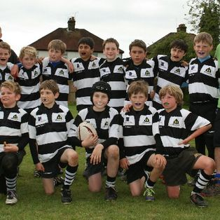 The sun shone on the righteous U11Bs at the London Irish Festival